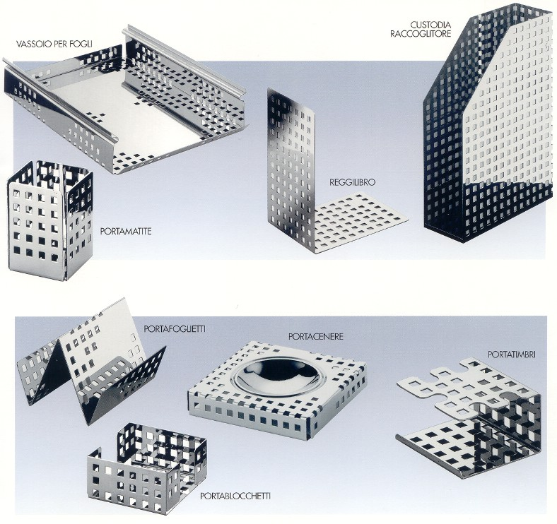 Linea ufficio quadrotto - Casalinghi design ...